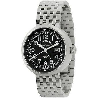 Zeno-watch mens watch Rondo (dual time) B554Q-GMT-a1M