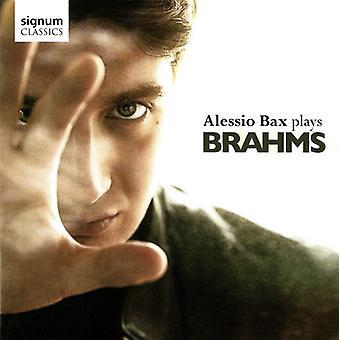 Alessio Bax - Alessio Bax Plays Brahms [CD] USA import