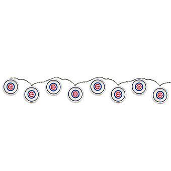 Luz de LED String do Chicago Cubs conjunto 8,5 pés longo