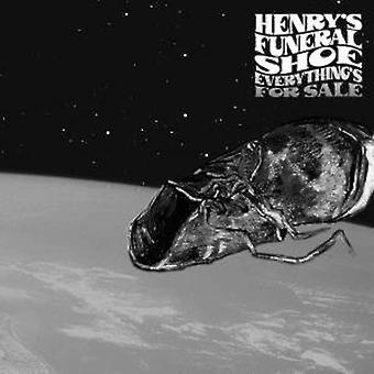 Henry's Funeral Shoe - Everything's for Sale [Vinyl] USA import