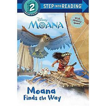 Moana Finds the Way (Disney Moana) by Rh Disney - Rh Disney - 9780736