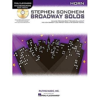 Stephen Sondheim - Broadway Solos - Horn - 9781423472810 Book