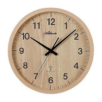 壁の時計付きラジオ アトランタ - 4438-30