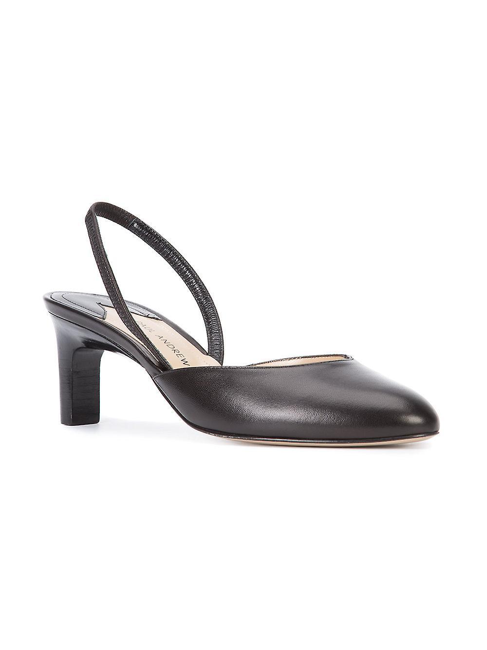 Paul Andrew Womens Celestine læder lukket tå formelle slingback sandaler