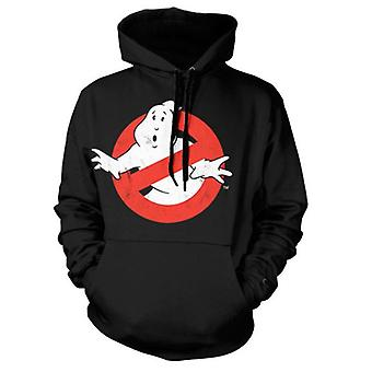 Ghostbusters Distressed 'No Ghost' Logo Hoodie