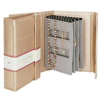 Eternal Collection Oro Libro Delle Collane Organizzatore