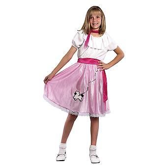 Bristol Novelty Childrens/Girls 50s Teeny Bopper Costume