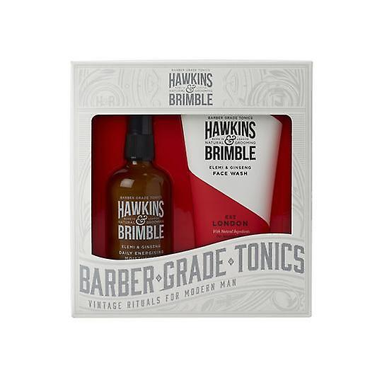 Hawkins & Brimble Face Gift Set (Face Wash & Daily Moisturiser)