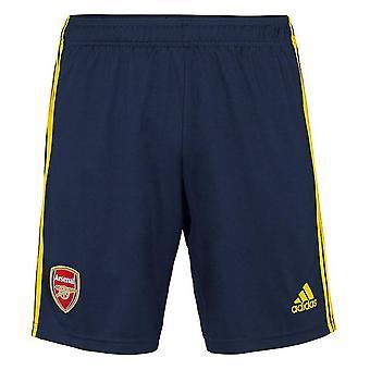 2019-2020 Arsenal Adidas Auswärtsshorts (Navy)