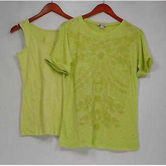 Top Dolman Manga Top & Tank Lime Green A274911