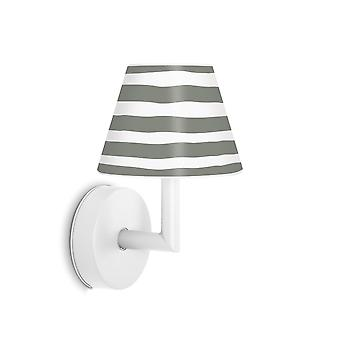 Fatboy Voeg de Wally USB belastbaar wandlamp in wit