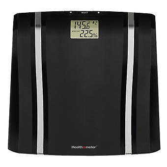 Health o meter BFM080DQ-05 LCD Display Body Fat Hydration Level Scale, Black