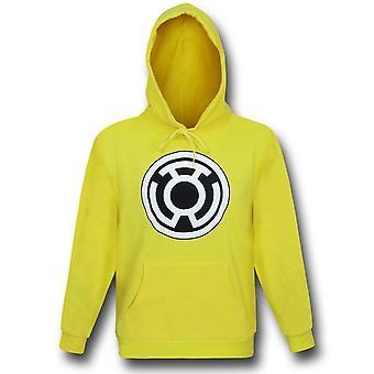 Green Lantern Sinestro Corps Yellow Pullover Hoodie
