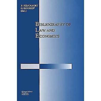 Lain ja talous tieteen bibliografia Bouckaert & B.