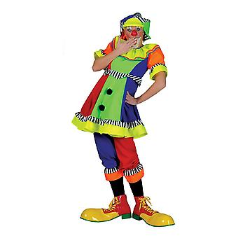 Clown Women's Costume Clown Costume Carnival Carnival Costume Dames Colorful