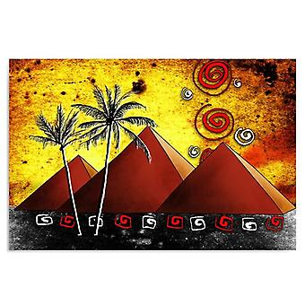 Canvas, Picture on canvas, Pyramids