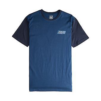 Billabong Super 8 korte mouwen T-shirt in donkerblauw
