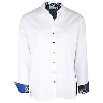 Just White White Shirt With Chain Detail Back