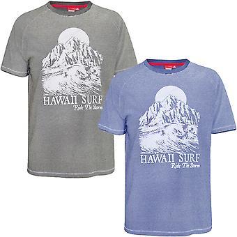 Duke D555 Mens Dakota Big Tall King Size Crew Neck Short Sleeve T-Shirt Tee Top