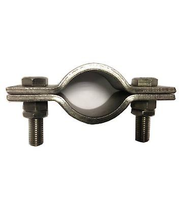 Heavy Duty 2 Bolt Pipe Clip. 172 Mm Id (150 Mm Nb/168 Mm Od Pipe ) T316 Stainless Steel