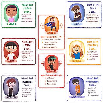How I'm Feeling Reversible Classroom Posters, 8-pack
