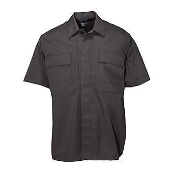 5.11 Taktik Men's Taclite Kısa Kollu TDU Gömlek, Siyah, Orta