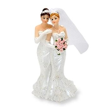 Mrs and Mrs Cake Topper