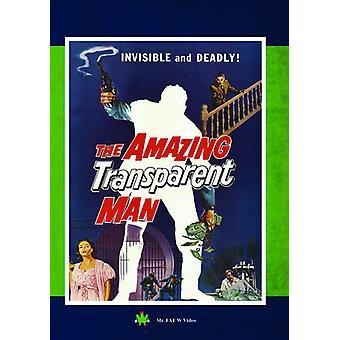 Amazing Transparent Man [DVD] USA import