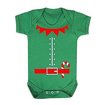 Elf costume babygrow