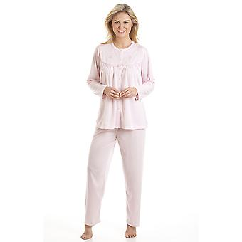 Damer La Marquise broderet Cuddleknit Pyjamas nattøj nattøj 1513N