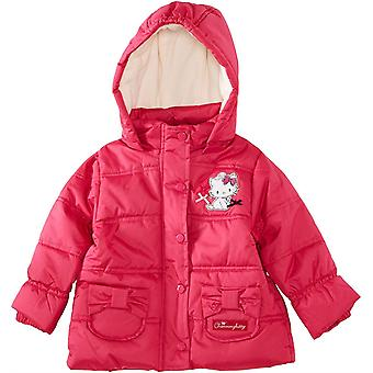 Flickor Charmmy Kitty Winter Hooded Puffer Jacket