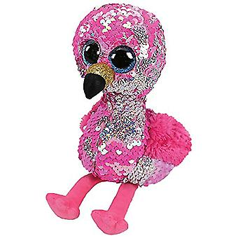 Ty Flippables Pinky Flamingo Medium Size Sequins Soft Toy
