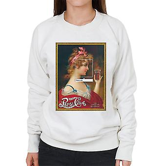 Pepsi Cola Lady The American Drink Women's Sweatshirt