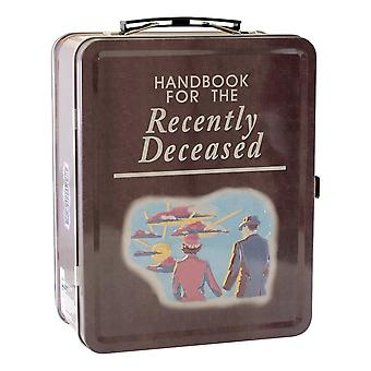 Beetlejuice - handbook tin carry all fun box