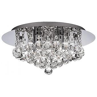 THLC Moderní křišťálový stropní lustr závěsný svítidlo svítidlo Flush Mount
