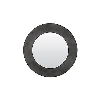 ضوء ومرآة حية 76cm راوية نسيج النيكل الأسود