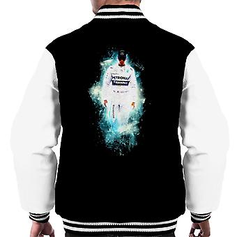 Motorsport Images Lewis Hamilton Austrian GP Nebula Art Men's Varsity Jacket