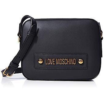 الحب موسكينو Jc4027pp1a الأسود حقيبة الصليب المرأة (أسود) 6x17x22 سم (W x H x L)