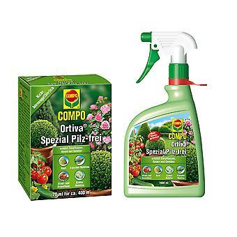 Oleanderhof® COMPO Ortiva® مجموعة خاصة خالية من الفطر، 2 قطعة