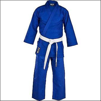 Blitz sports lightweight student judo suit - blue