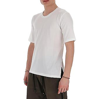 Laneus 90624cc7panna Men's White Cotton T-shirt