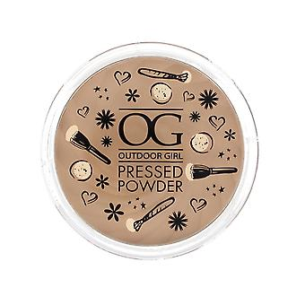 Outdoor Girl Pressed Powder Compact 9g ~ Translucent
