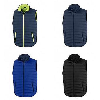 Result Adults Unisex Thermoquilt Gilet