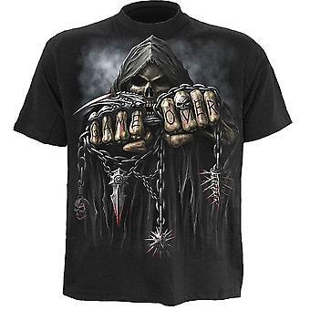 Gioco di spirale sopra t-shirt