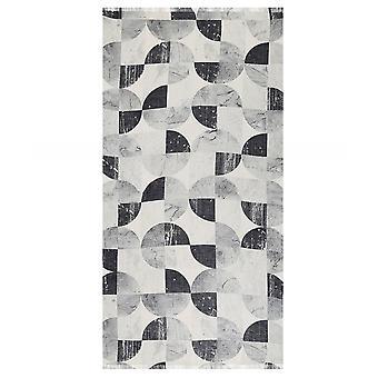 Sciarpa a stampa geometrica ahujasons