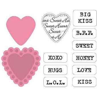 Marianne Design Collectables Cutting Dies - Sugar Hearts Uk Col1307