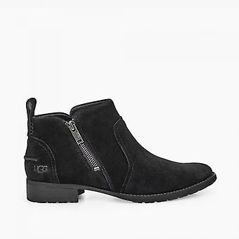 UGG Aureo Ii Ladies Suede Ankle Boots Black