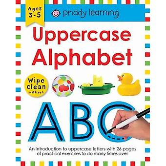 Uppercase Alphabet - Wipe Clean Workbooks by Roger Priddy - 9781783416
