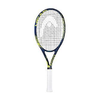 Head Spark Elite Adult Tennis Racket Blue/Yellow - Grip 2