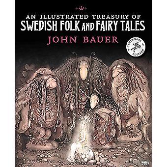 Kuvitettu valtiovarainministeriö Ruotsin folk ja satuja John Bauer